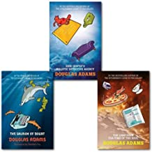 Douglas Adams Dirk Gently 3 Books Collection Set, (Dirk Gently's Holistic Detective Agency, The Long Dark Tea-Time of the Soul & The Salmon of Doubt: Hitchhiking the Galaxy One Last Time)