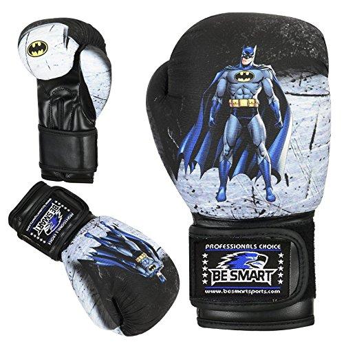 Spider-Man Kinder Boxhandschuhe Junior Pad 113,4g, 170,1Boxsack Kinder MMA Youth (Authentic Advance Gel Handschuhe verwendet von Top MMA Clubs), Kinder, batman