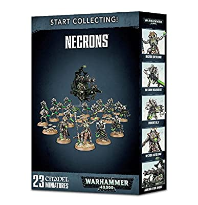 Start Collecting! Necrons 70-49 - 2018 V8 Warhammer 40,000