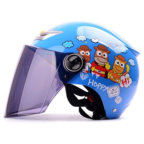 YAHAMA Casco Integral Niños Casco Protector Facial