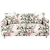 FORCHEER 1/2/3/4 Sitzer Sofabezug Sofaüberwurf Sesselhussen Elastisch Hautfreundlich 90-290cm (3-Sitzer Sofabezug, 040)