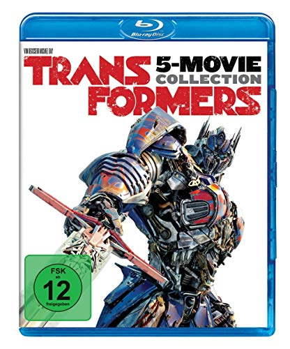 Transformers 1-5 Collection [Blu-ray] -