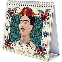 Grupo Erik Editores   Calendario Sobremesa Deluxe 2018 Frida Kahlo