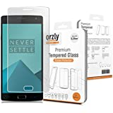 Orzly® - Prima Cristal Templado Protector de Pantalla para OnePlus 2 SmartPhone / Teléfono Móvil (2015 Modelo / ONE PLUS TWO) - 0,24mm Protectora Screen Protector - Transparent