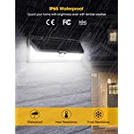 Mpow 54 LED Security Lights, Solar Powered Lights Outdoor Wall Lamp 13