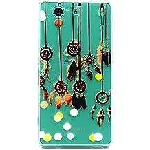 Voguecase® Para Sony Xperia Z3 Compact ultra-slim fit TPU Funda de Silicona de Gel Carcasa Tapa Case Cover (Campanula colgante) + Gratis aguja de la pantalla stylus universales