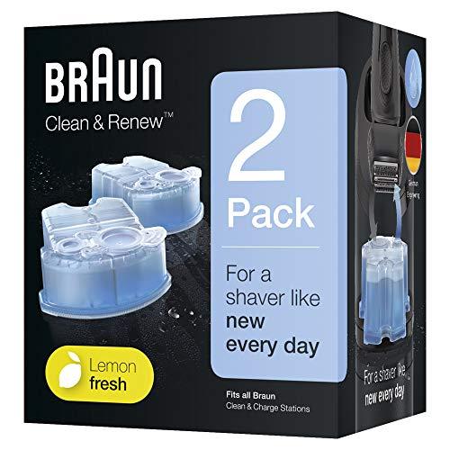 Braun Clean&Renew Cartuchos recarga afeitadora
