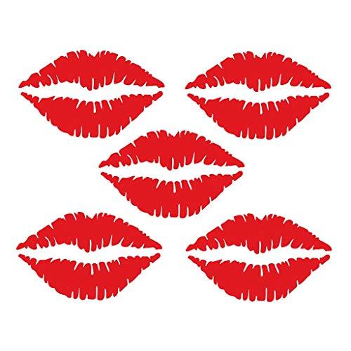 Mitlfuny Black Friay DE Cyber Monday DE,Sexy Lippenaufkleber Kühlschrank Happy Delicious Kitchen Kühlschrank Wandaufkleber Kunst