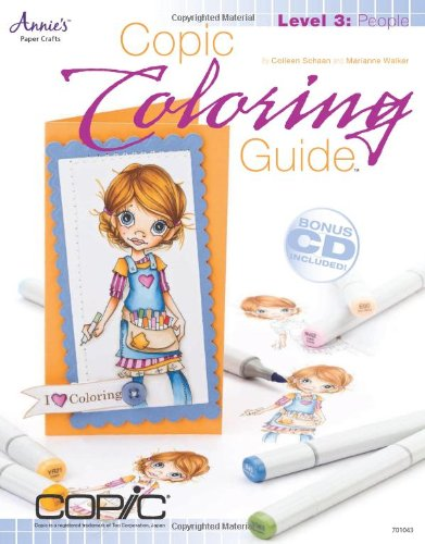 Copic Coloring Guide Level 3: People: (With CD)