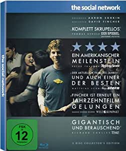 The Social Network (2-Disc Collector's Edition) [Blu-ray]