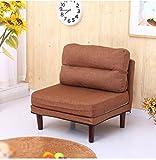 RGLRSF ZHDC® Beanbag, Mini Extraíble Beanbag Modern Simple Balcony Mazo de la silla Silla de computadora (Color : #4)