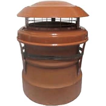 ALUMINIUM Stove Depot senior anti down draught Cowl      STAINLESS STEEL