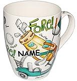 Unbekannt 2 Stück _ XL Henkeltassen / Kaffeetassen - Jumbo -  Golf Spiel  - incl. Name - groß - 500 ml - Porzellan / Keramik - Teetasse - Trinktasse mit Henkel - Fore..