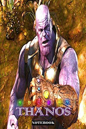 Thanos: Marvel Superhero Notebook Journal 6 x 9 Inches Dc Gauntlet