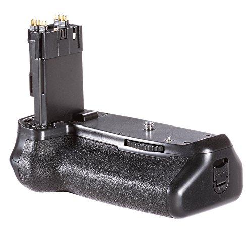 Neewer® Batterie-Griff-Halter (Ersatz für BG-E14) Arbeit mit LP-E6 Akkus oder 6 Stück AA-Batterien für Canon EOS 70D 80D DSLR-Kamera (Pass-foto-halter)