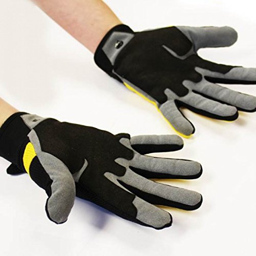 Rat-Race-Tough-Running-Glove-LXL-Large-Extra-Large-Yellow-Black-Fitness-Outdoors-Mens-Ladies-Womens