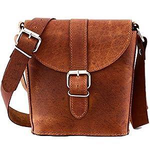 PAUL MARIUS pequeña bolsa de cuero bolso cubo L'AUTHENTIQUE (S)