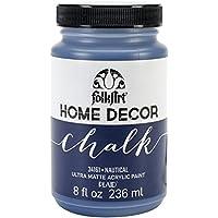 Plaid: Craft Folkart Home Decor Chalk Paint 8 Oz-Nautical