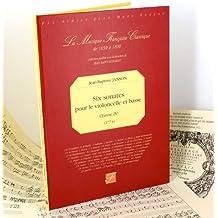 Six sonates pour le violoncelle et basse - Oeuvre IVe