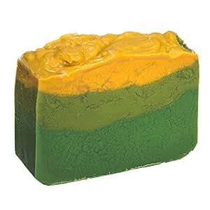 Avocado Seifenstück mit Jasminöl (4Oz)- Handgemachtes und biologisch mit ätherischen Ölen. Natürliche feuchtigkeitsspendende Körperseife für Haut und Gesicht. Mit Shea Butter, Kokosöl, natürlichem Glycerin