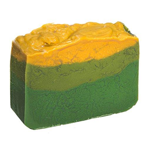 Barre de savon à l'Avocat et à l'huile de jasmin (4 Oz)- Savon artisanal avec des huiles essentielles. Savon naturel hydratant pour la peau et le visage. Avec Beurre de Karité, Huile de Coco, Glycérine Naturelle