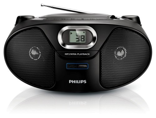Philips AZ385/12 Radiorekorder ( CD-Player,MP3 Wiedergabe ) (Philips-cd-mp3-player)