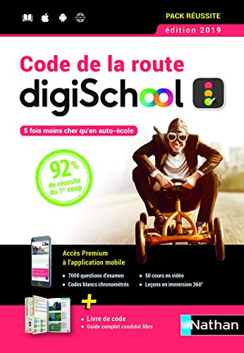 Coffret Code de la route DigiSchool 2019 par Thierry Orval