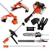 52CC MULTI FUNCTION 5-IN-1 GARDEN TOOL – STRIMMER, BRUSH CUTTER, CHAINSAW, ETC