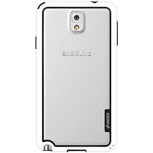 Amzer 97314 Border Case - White for Samsung GALAXY Note 3 SM-N9000, Samsung GALAXY Note 3 SM-N9005, Samsung GALAXY Note 3 SM-N900  available at amazon for Rs.349