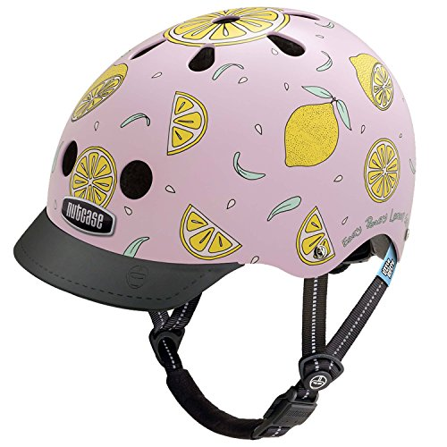 Nutcase Little Nutty Street Helmet Kids Pink Lemonade 2019 Fahrradhelm
