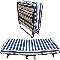 Baldiflex Dali - Cama plegable con colchón de poliuretano expandido Waterfoam ortopédico (10 cm de