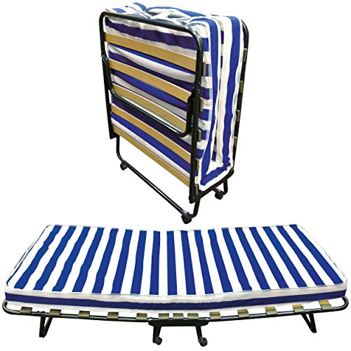 Baldiflex Dali - Cama plegable con colchón de poliuretano expandido W