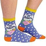 World's Best Mum Socken für Frauen im Paar - Beste Mutter Strumpf