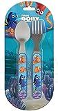 Unbekannt BETA SERVICE EL51349 Findet Dorie Kinderbesteck, 2-teilig, Kunststoff, bunt, 15 x 25 x 12 cm