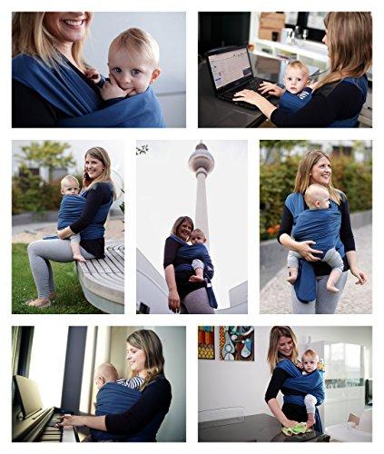 Babytragetuch für Neugeborene BabyChamp 2017 - 6