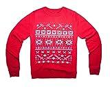 100% Baumwolle Eat Sleep Mine Repeat Kinder Kinder Jungen und Mädchen Weihnachten Jumper in verschiedenen Farben und Größen