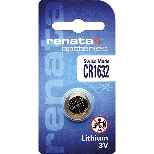 Renata CR1632.CU batterie au lithium, 137mAh