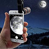 Renyke Universal 12X Zoom Mobile Phone Telescope Lens, Smartphone Devices Compatible