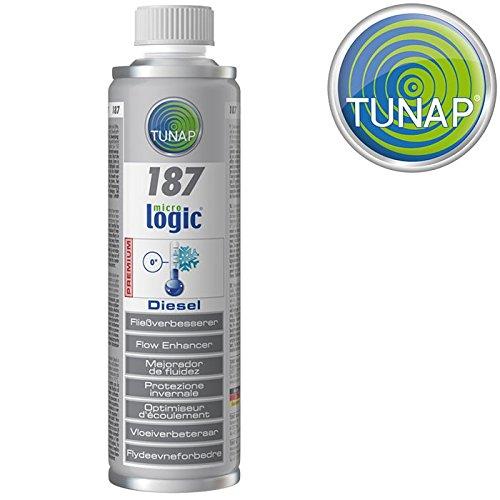 Tunap 'Additif 187 micrologic Premium Finition verbe esserer Diesel