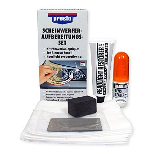 2x PRESTO 365171 Scheinwerfer Aufbereitung Set