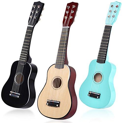 "COSTWAY Gitarre Kindergitarre Konzertgitarre Klassikgitarre Akustikgitarre 21"" geeignet für Anfänger Farbwahl (natur)"