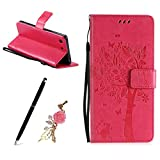 Meeter Sony Xperia M5 Coque, Etui Housse pour Sony Xperia M5, Bookstyle...