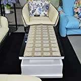 fwerq Im europäischen Stil Couchtisch Tuch, Wasserdicht verfügbare Tabelle pad Tischdecke, Tischläufer pvc hot Matte, TV-Schrank pad-B 50 x 140 cm (20 x 55 Zoll)