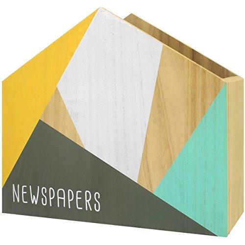 Promobo Zeitschriftenständer Skandinavisches Design Range Magazin Collection Scandi grün