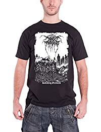Darkthrone T Shirt Ravishing Grimness 2012 band logo offiziell Herren Schwarz