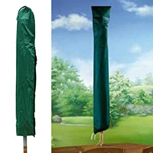 We Search You Save Green Parasol Cover 150cm – Strong – Durable – Also be Used for Rotary Airers – Machine Washable…