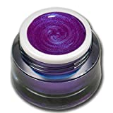 Premium Metallic Farbgel UV GEL Nr. 63 Lila Violett Pearl 5ml RM Beautynails Nailart Nageldesign