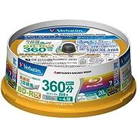 20 Verbatim Bluray Rohlinge BD-R 50GB Original Spindel Full Printable Bluray