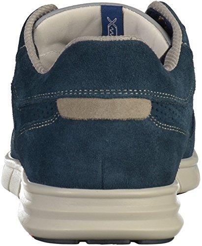 LLOYD 18-010 Herren Halbschuhe Blau(Blau/Grau)
