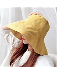 Hongyan Cappello da sole estivo da donna Cappello estivo pieghevole da sole Cappello  da pesca estivo 7665e0edfc1b